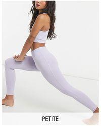 ASOS 4505 Petite Sports legging - Purple