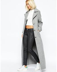 Weekday - Grant Full Length Coat - Lyst