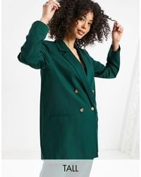 Y.A.S - Y.a.s. Tall Double Breasted Blazer Co-ord - Lyst