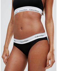Calvin Klein Modern Cotton - Slip - Nero