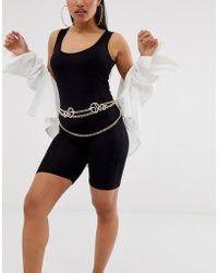ASOS - Snake Chain Waist And Hip Belt - Lyst