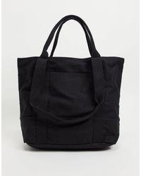 ASOS Oversized Heavyweight Tote Bag - Black