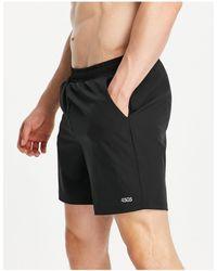 ASOS 4505 Gym to Swim - Pantaloncini da bagno slim - Nero