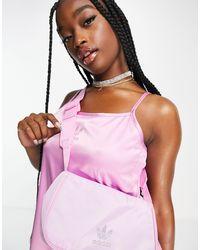 adidas Originals Bolso pequeña roso con logo - Rosa