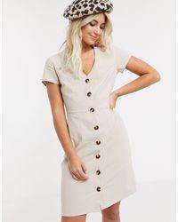 Glamorous A- Line Mini Dress - Multicolour