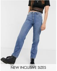 Collusion X005 Straight Leg Jeans - Blue