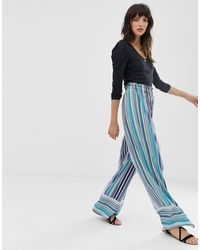 Band Of Gypsies Stripe Trousers - Blue