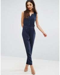 Greylin - Cecilia Quilted Jumpsuit - Lyst