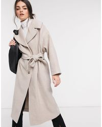 & Other Stories Belted Coat - Natural