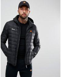 Ellesse Lombardy Padded Jacket In Black