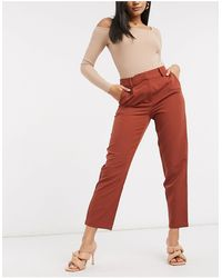 Y.A.S Tailored Trousers - Brown
