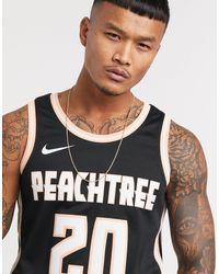 Nike Basketball – Atlanta Hawks John Collins NBA Swingman – es Trägershirt - Schwarz