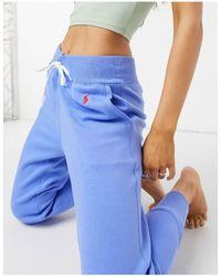 Polo Ralph Lauren Joggers con logo, colore blu