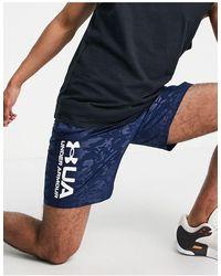 Under Armour - Training Woven Emboss Logo Shorts - Lyst