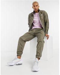 Nike Club Woven Tracksuit Set - Green