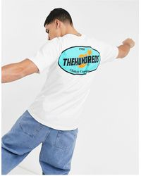 The Hundreds Slick - T-shirt bianca - Bianco