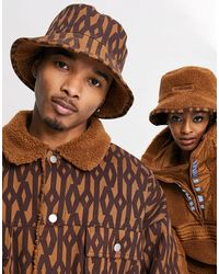 Ivy Park Adidas X Reversible Monogram Bucket Hat - Brown