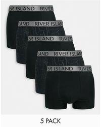 River Island Lot - Noir