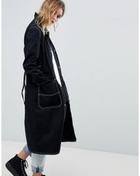 Cheap Monday - Summer Trench With Contrast Stitching - Lyst