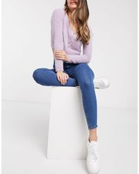 Pull&Bear - – e Jeggings mit hoher Taille - Lyst