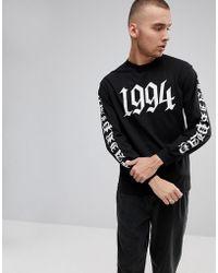 FairPlay - 1994 Long Sleeve T-shirt With Back Print - Lyst