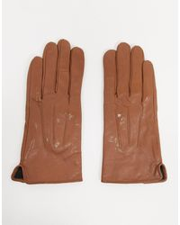 Barneys Originals Barney's Originals – Handschuhe aus echtem Leder mit Touchscreen-Funktion - Braun