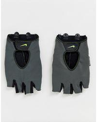 Nike Серые Спортивные Перчатки Training Fundamental-серый - Черный