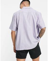 Weekday Chill Short Sleeve Shirt - Blue