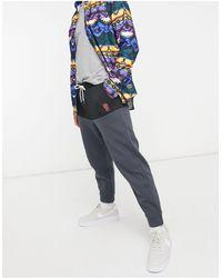 Wesc Joggers con diseño color block Baker - Negro