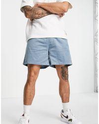 ASOS - Shorts azules - Lyst