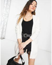 Vila Cardigan ouvert - Blanc