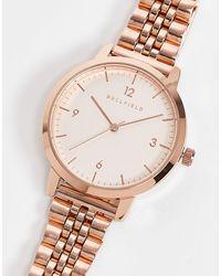 Bellfield Stainless Steel Bracelet Watch - Metallic
