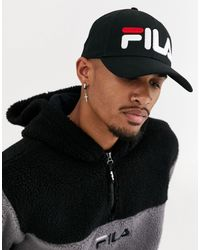 Fila Ilia - Cappellino snapback cap nero con logo