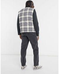 ASOS – Eng geschnittene Jeans - Schwarz
