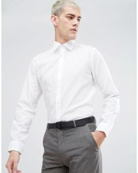 SELECTED - Water Repellent Easy Iron Regular Fit Shirt - Lyst
