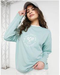 New Look Tennis Club Sweatshirt - Green