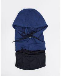 Oakley Maschera per il viso blu con cappuccio