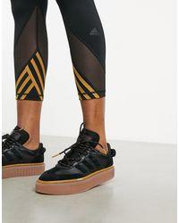 Ivy Park Adidas X Super Sleek 72 Sneakers - Black