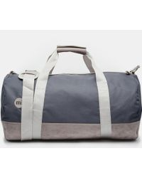 Mi-Pac - Classic Barrel Bag In Gray - Lyst