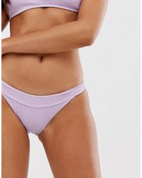 Hollister Ribbed Bikini Bottoms