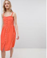 Blend She - Sersa Seersucker Weave Dress - Lyst