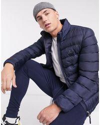 GANT Lightweight Puffer Jacket - Blue