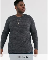 Only & Sons Crew Neck Jumper - Black