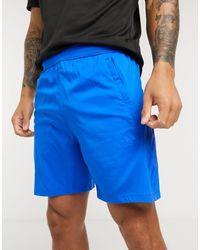 adidas Training Tonal Stripe Shorts - Blue
