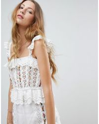 RahiCali - Dreamcatcher Embroidered Top - Lyst