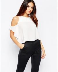 Wal-G - Top With Cold Shoulder - Lyst