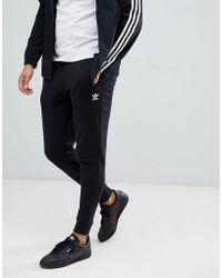 cde0411b352 Hot adidas Originals - Premium Skinny Joggers In Black Dn6009 - Lyst