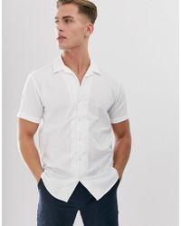 SELECTED Cuban Shirt In 100% Bci Cotton