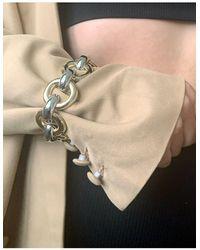 ASOS Bracelet With Circle Links - Multicolour