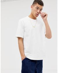 ASOS - Loose Fit Heavyweight T-shirt In White - Lyst